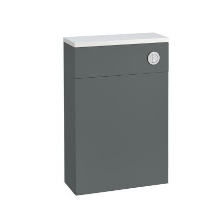 560mm Slimline Back to Wall WC Unit - Willow