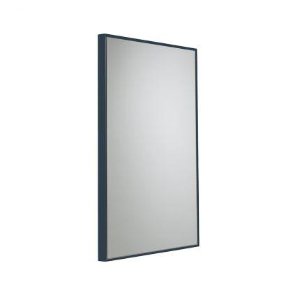 500mm Framed Mirror - Dark Blue