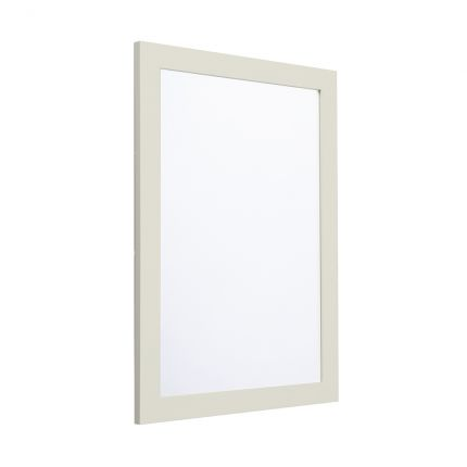 Halcyon 585mm Framed Mirror - Natural White