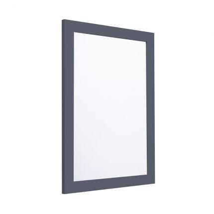 Halcyon 585mm Framed Mirror - Midnight Grey