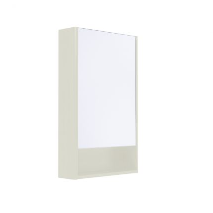 Halcyon Single Door Cabinet - Natural White