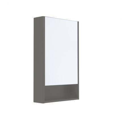 Halcyon Single Door Cabinet - Stone Grey