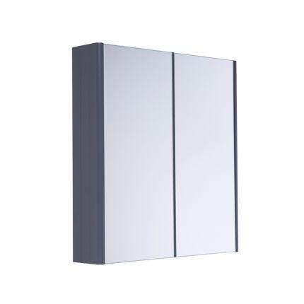 Halcyon Double Door Cabinet - Midnight Grey