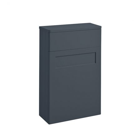 Halcyon Curved Back to Wall Unit - Midnight Grey