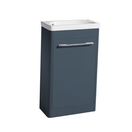 Contour 500 Cloakroom Unit - Dark Blue