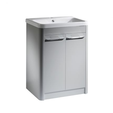 Contour 600 Freestanding Unit - Light Grey