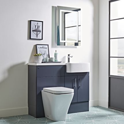Muse Midnight Grey Fitted Furniture