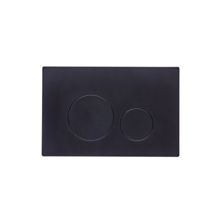 Round Flush Push Plate
