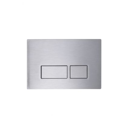 Square Flush Push Plate - Stainless Steel