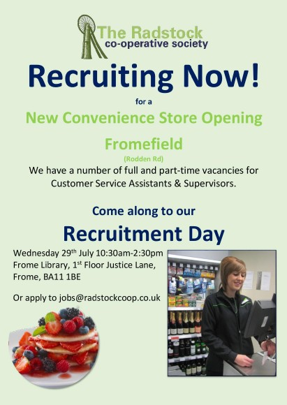 Fromefield Recruitment advert employee-page-001