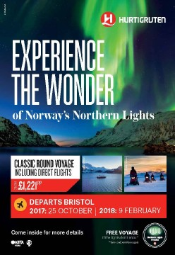 Northern lights cruise BRS