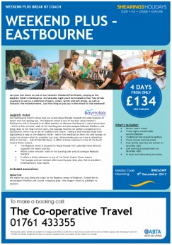 Weekend Plus - Eastbourne
