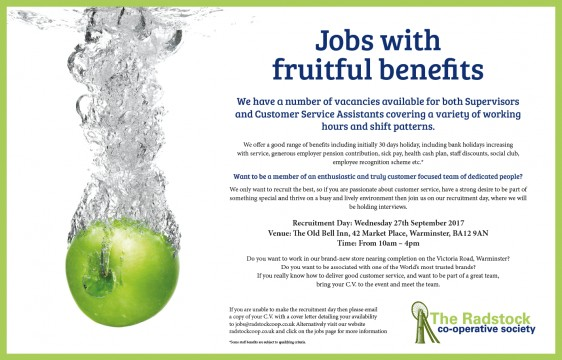 Jobs With Fruitful benefits