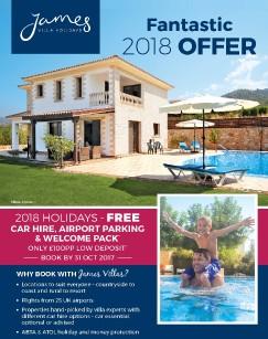 James Villas 2018 offer