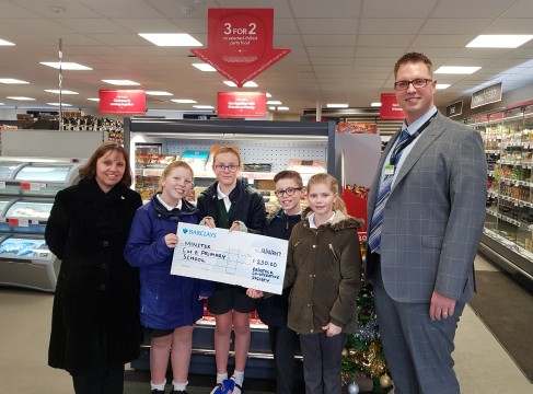 Warminster Minster School Donation