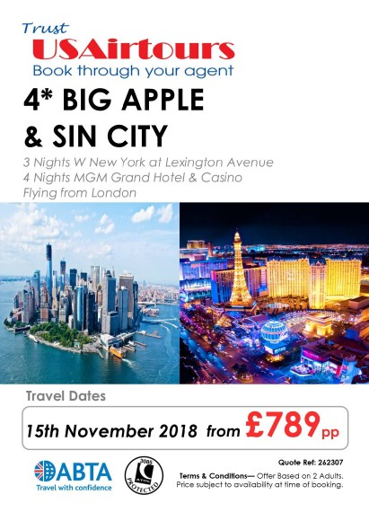 US Airtours NY LAS 15NOV18