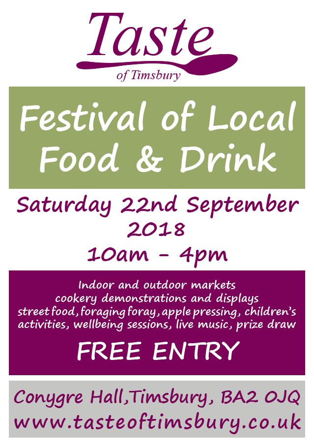 Taste Of Timsbury Poster