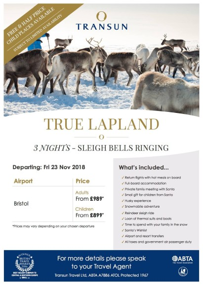 Transun Lapland 3 nts