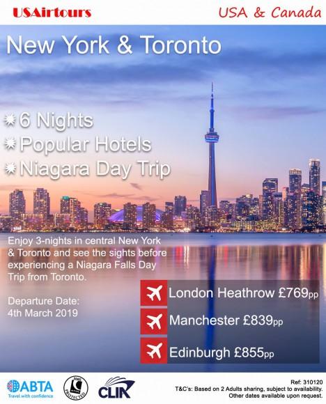 NY & Toronto 04MAR19