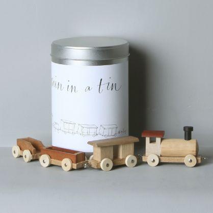 Baileys train in tin
