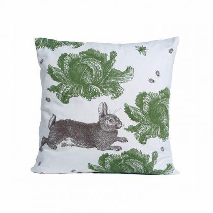 Thornback & Peel Rabbit & Cabbage cushion