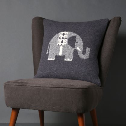 Sally Nencini elephant cushion