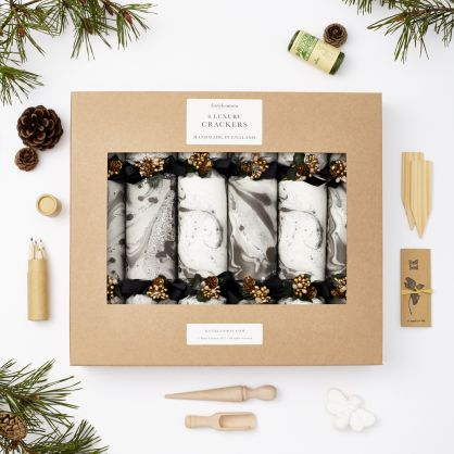 Katie Leamon Marble Christmas crackers