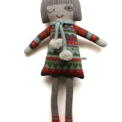 Sally Nencini vintage fairisle dolly