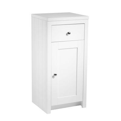 Lansdown 400 Storage Unit - Linen White
