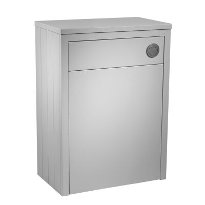 Lansdown 600 Back To Wall Unit - Pebble Grey