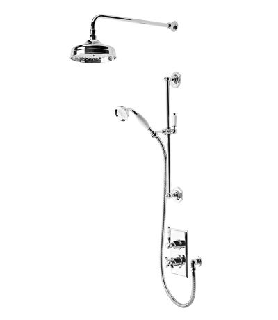 Varsity Thermostatic Concealed Dual Function Shower Valve System