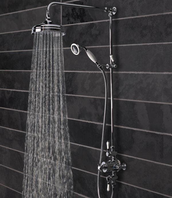 Varsity Thermostatic Exposed Dual Function Shower Valve System ...
