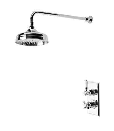 Varsity Thermostatic Concealed Single Function Shower Valve System
