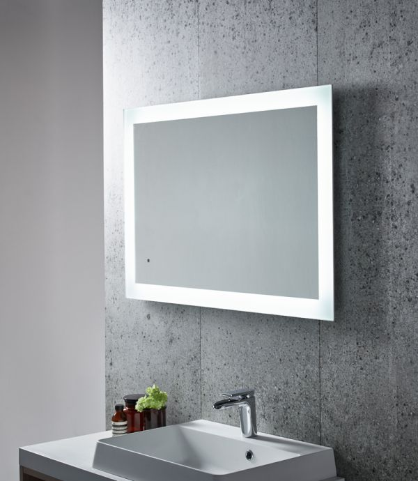 Appear led backlit illuminated mirror tavistock bathrooms for Illuminated mirrors ikea