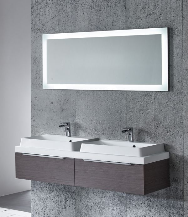 Drift Led Backlit Illuminated Mirror Tavistock Bathrooms