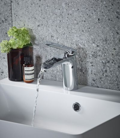 Solace Basin Mixer with Click Waste