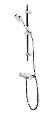 Quantum Thermostatic  Bar Valve Shower System with Accessory Shelf