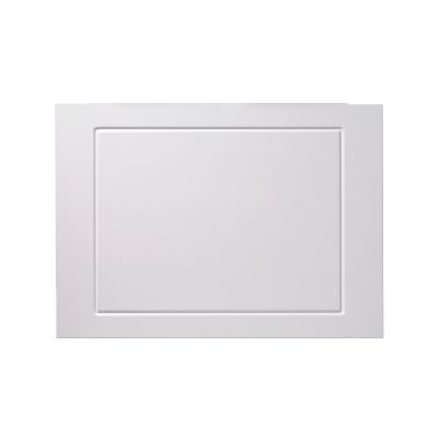Meridian 750mm End Bath Panel White Routed