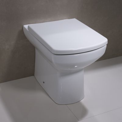 Vibe Back to Wall WC Pan