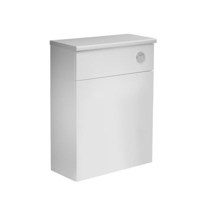 Courier 600 Back To Wall Unit White