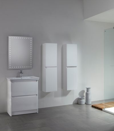 Equate 600 Freestanding Unit Gloss White