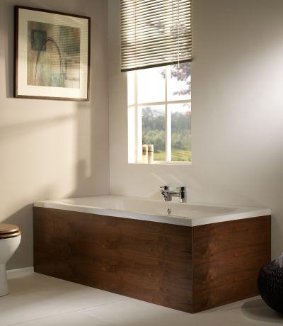 Ethos 1700mm Front Bath Panel Walnut