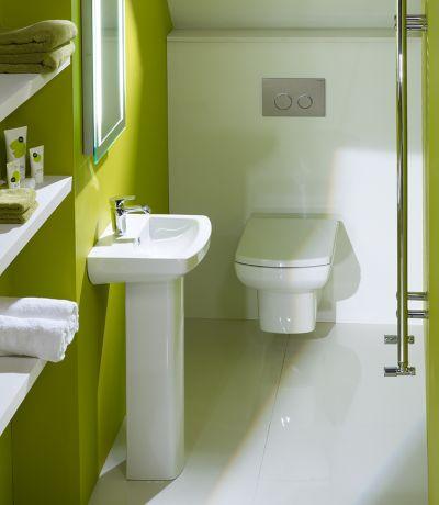 Vibe 460mm Ceramic Basin & Pedestal
