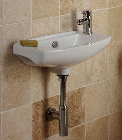 Micra 510mm Slimline Ceramic Basin (Right)