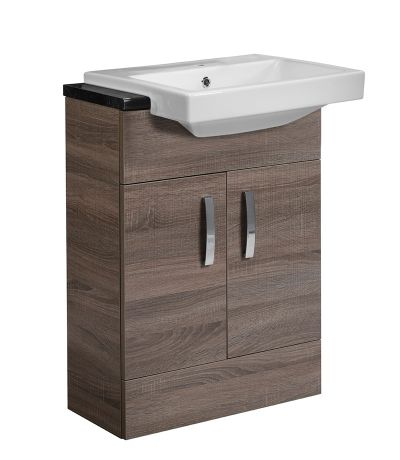 Courier 600 Semi-Countertop Unit - Havana Oak