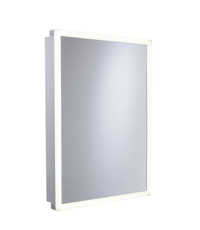 Nook Single Door Cabinet with Integrated Lighting