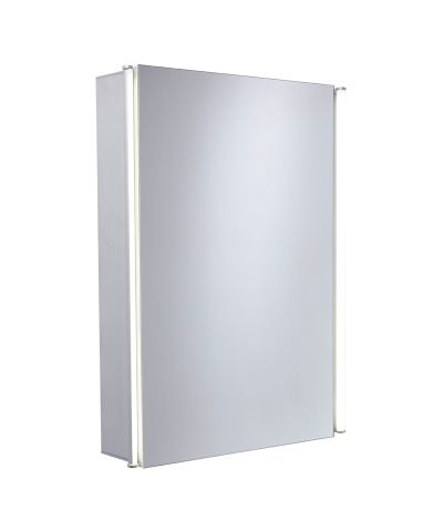 Sleek Single Mirror Door Cabinet