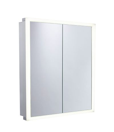 Nook Double Door Cabinet with Integrated LED Lighting