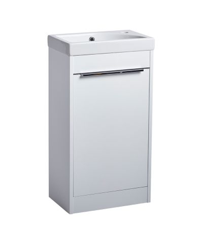 Sequence 450mm Freestanding Unit Gloss White