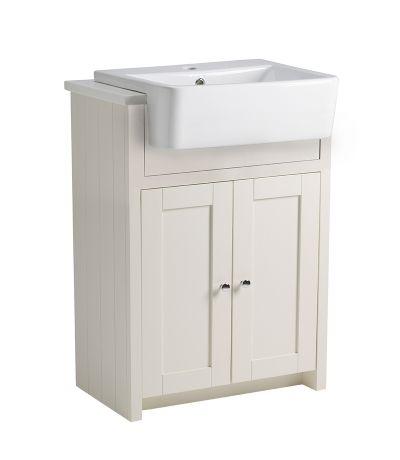 Lansdown 600 Semi-Countertop - Linen White
